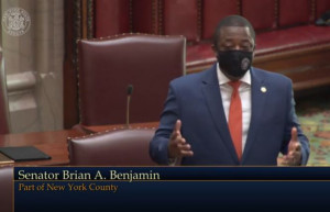 NY State Senator Brian Benjamin