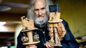 Stop-motion animator Bruce Bickford, whose work included clay animated films for Frank Zappa, is honored on a 2008 episode of Words and Pictures hosted by Bill Dodge and S.W. Conser