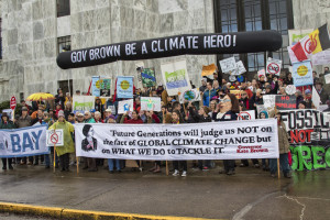 Climate rally in Salem