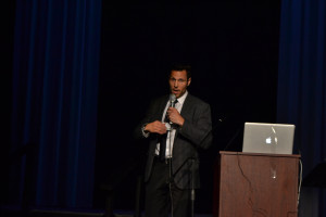 Riley Cote, retired professional hockey player and co-founder of Athletes For Care