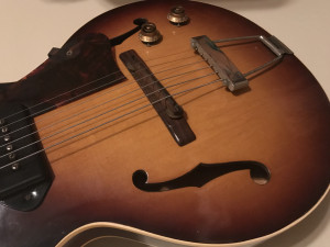 Image of vintage Gibson guitar