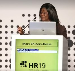 Dr. Mary Chinery-Hesse at #HR19