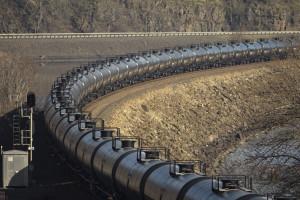 Oil Train through the Gorge