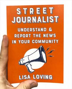 Street Journalist - book cover