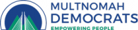 Multnomah county democrats logo